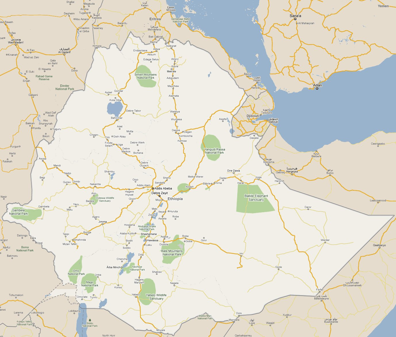 Footiemap ethiopia 2011 2012 map of top tier ethiopian footiemap ethiopia 2011 2012 map of top tier ethiopian football club stadiums gumiabroncs Choice Image