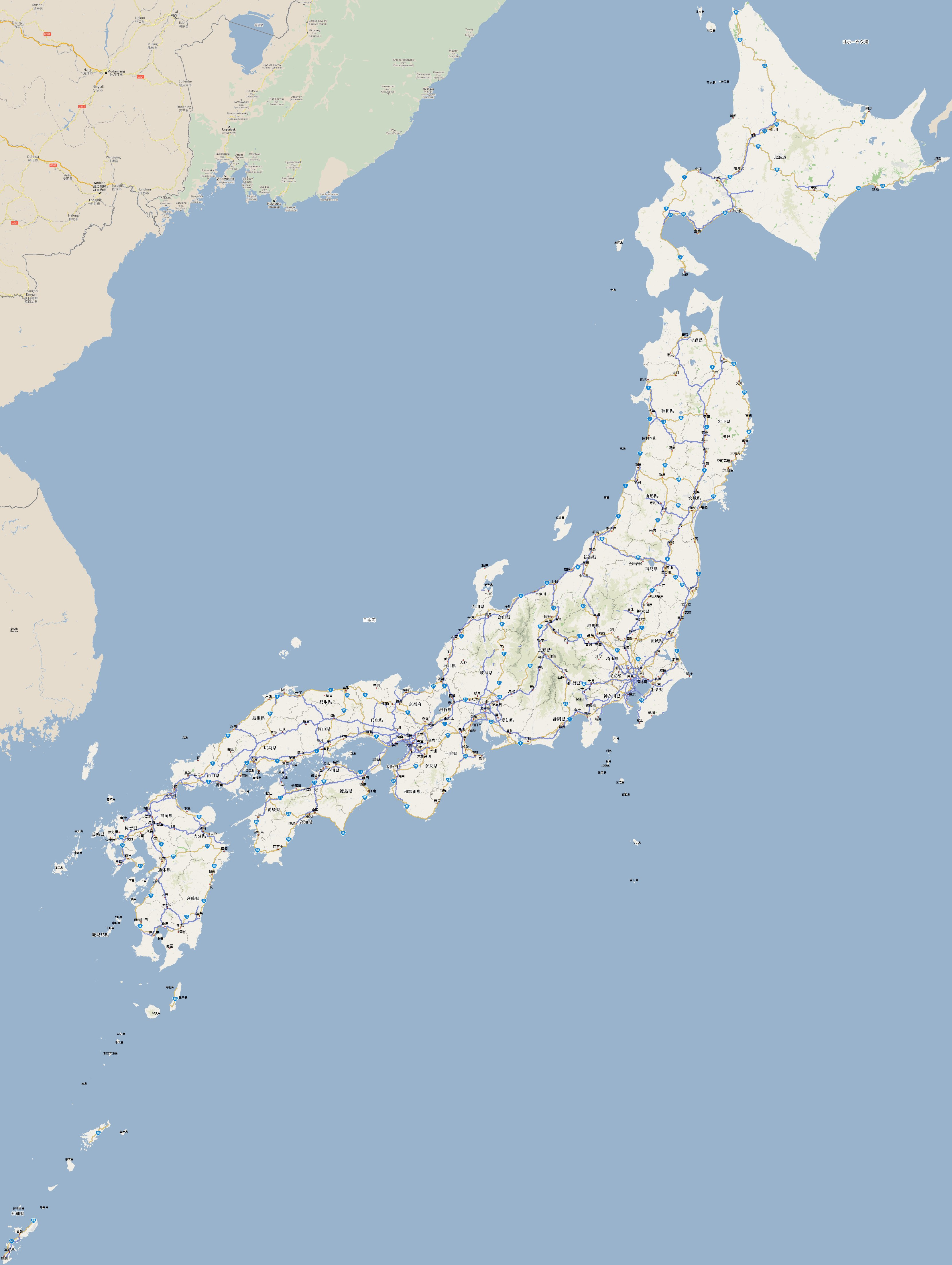 Footiemap japan 2018 map of top tier japanese football footiemap japan 2018 map of top tier japanese football club stadiums gumiabroncs Gallery