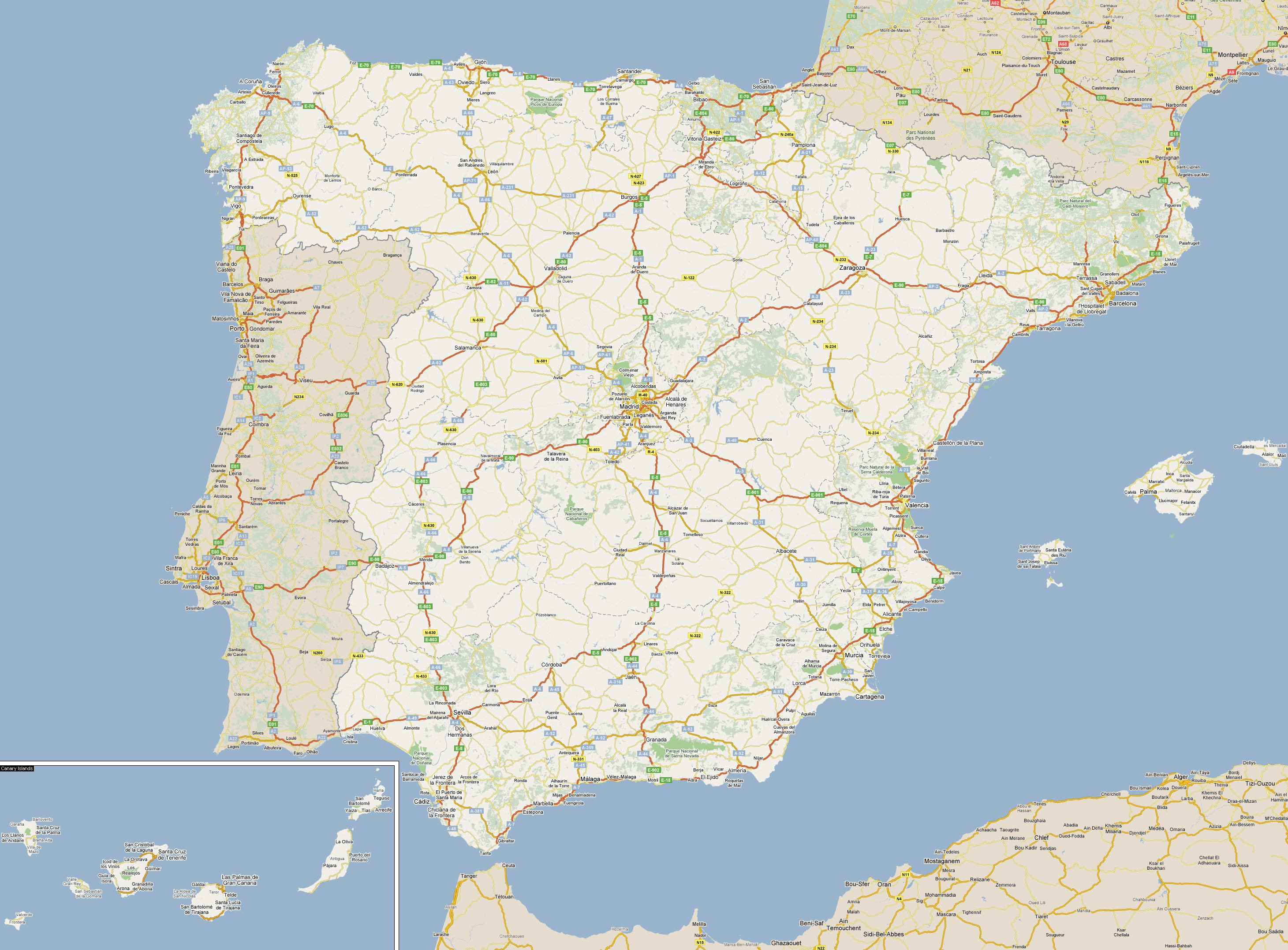 Footiemap.com - Spain ...